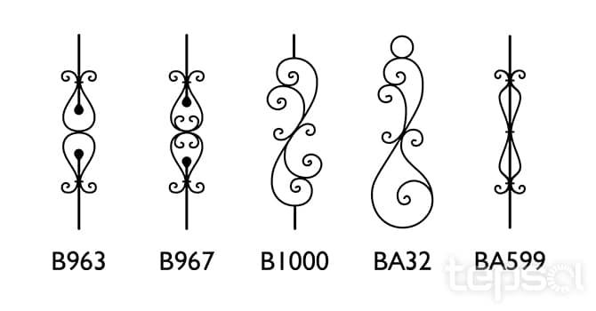 Toldos e Coberturas - Braços em Ferro Ornamentados