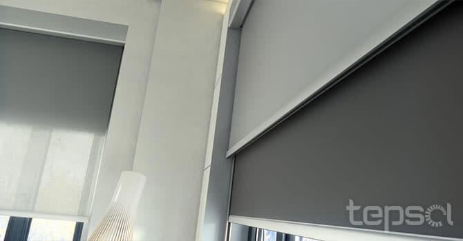 Interior - Estores e Cortinas - B-Box Duo